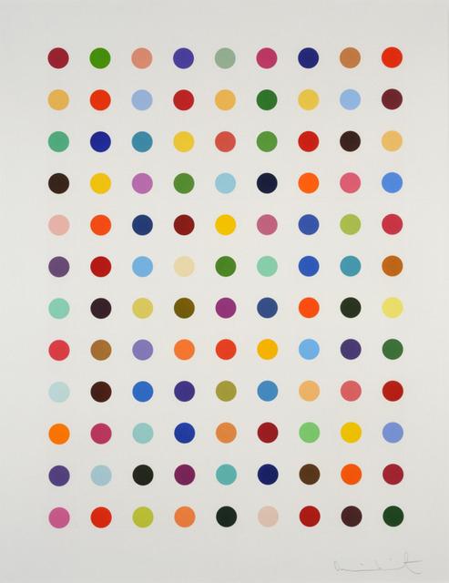 Damien Hirst, 'Damien Hirst, Flumequine', 2007, Oliver Cole Gallery