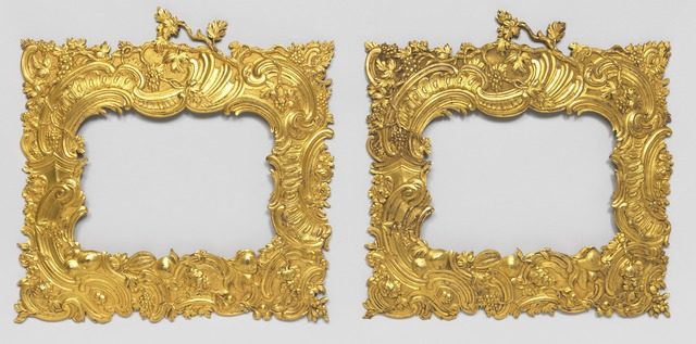 , 'Pair of frames,' ca. 1745, Cooper Hewitt, Smithsonian Design Museum