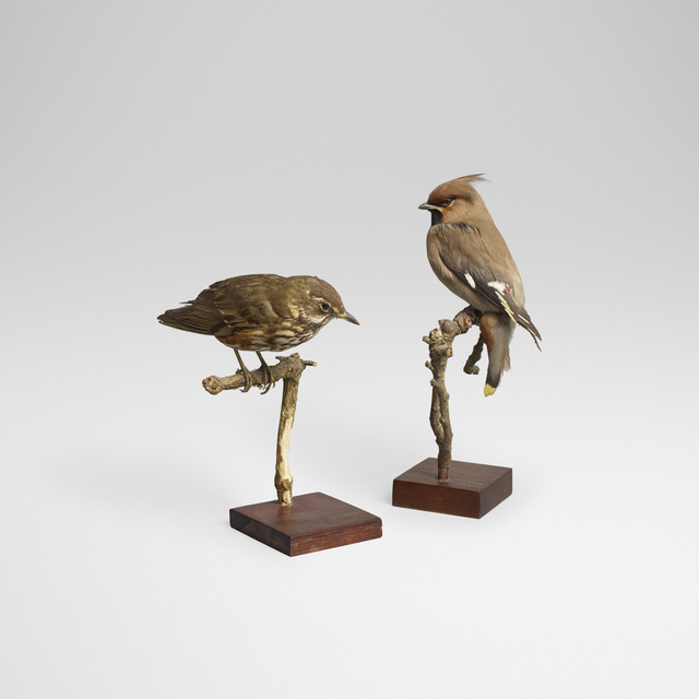 Ole Hoegh Post, 'Waxwing and Redwing', 1962/1967, Wright