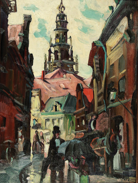 , 'Entering Paris, View of Hôtel de Ville, Paris, France,' ca. 1926, WOLFS