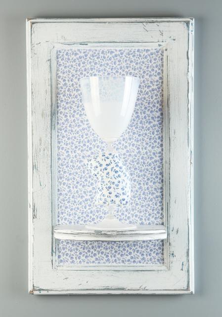 , 'Camo Cup (Blue Flowers),' 2016, Abmeyer + Wood Fine Art