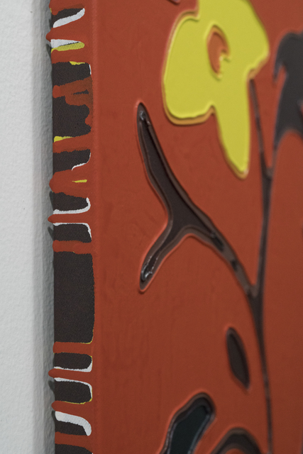Taro Morimoto, 'Flower in Milan #15', 2013 -2014, Painting, Oil and acrylic on denim, GALLERY TAGA 2