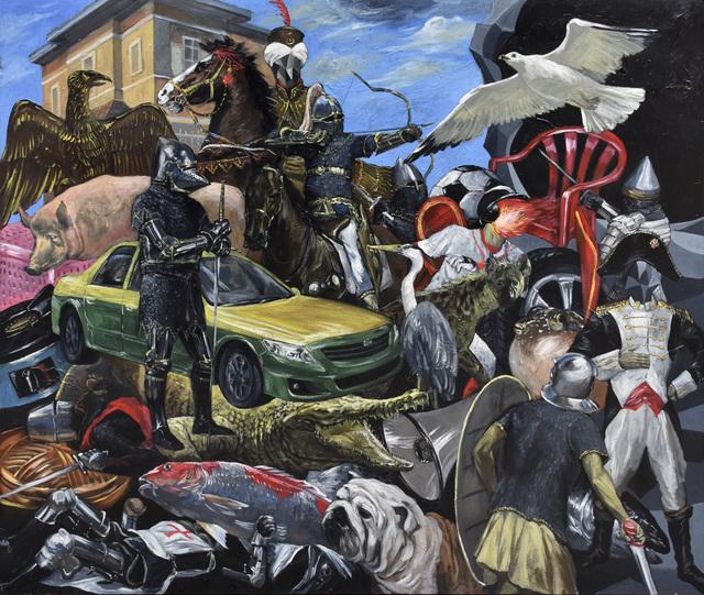 , 'Falling of Prestige,' 2015, Gallery LVS
