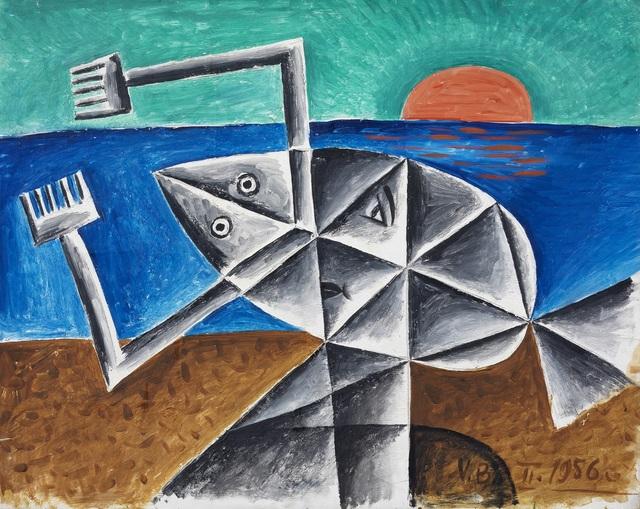 , 'Untitled,' 1956, Omer Tiroche Gallery