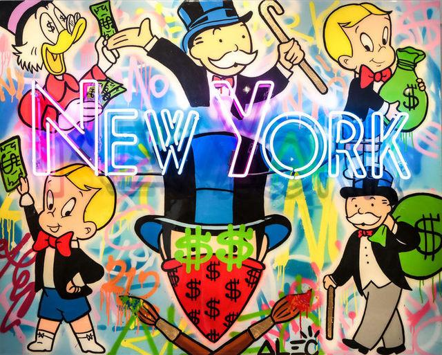 , 'New York Neon - Richie/Scrooge/Monopoly/Monops,' 2017, Eden Fine Art