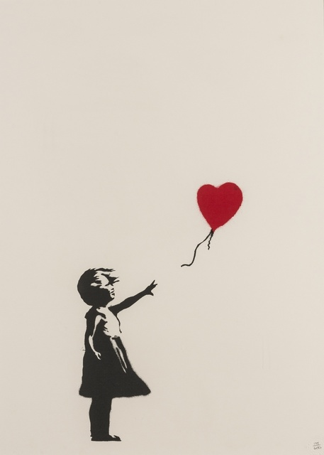Banksy, 'Girl with Balloon', 2004, Forum Auctions
