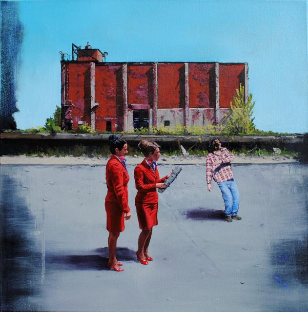 , 'PRESENTIMENT - SURRENDER,' 2013, Judy Ferrara Gallery