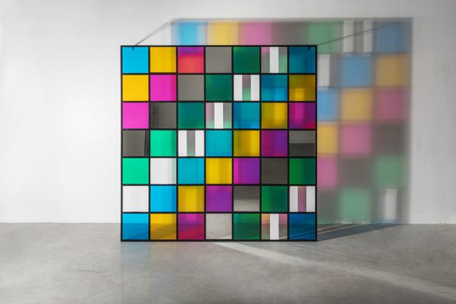 , 'Colore, luce, proiezione, ombra, trasparenza, lavoro situato n°1,' 2015, Galleria Continua