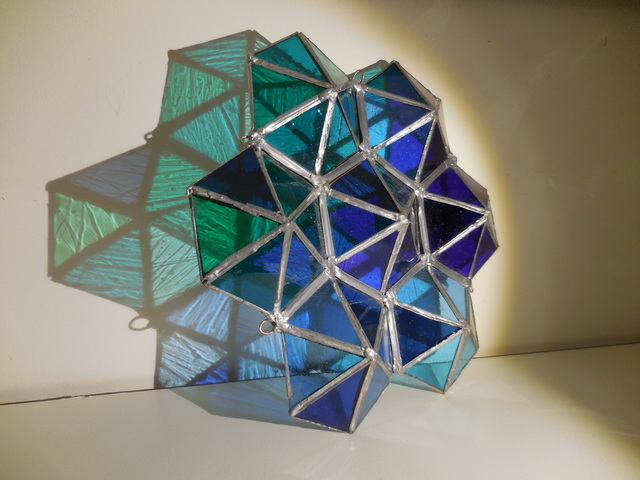, 'Blue Prism ,' 2018, Philadelphia's Magic Gardens