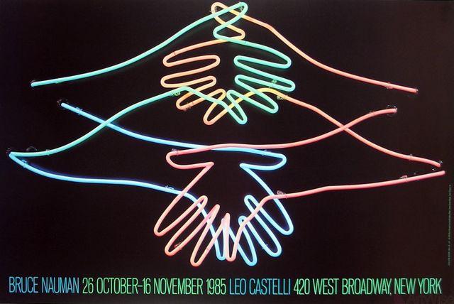 Bruce Nauman, 'Big Welcome', 1985, Ephemera or Merchandise, Offset Lithograph, ArtWise