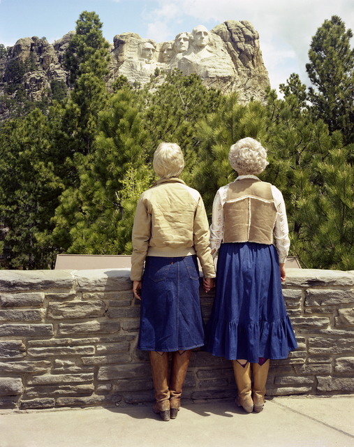 , 'Viewing Mt. Rushmore,' 1982, Modernism Inc.