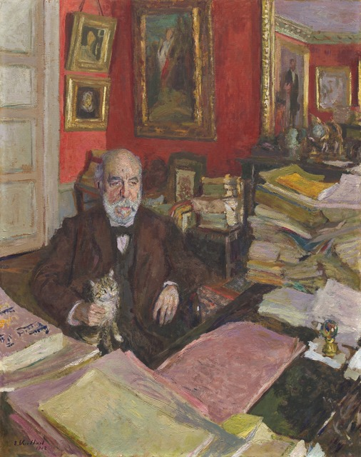 Édouard Vuillard, 'Théodore Duret', 1912, National Gallery of Art, Washington, D.C.