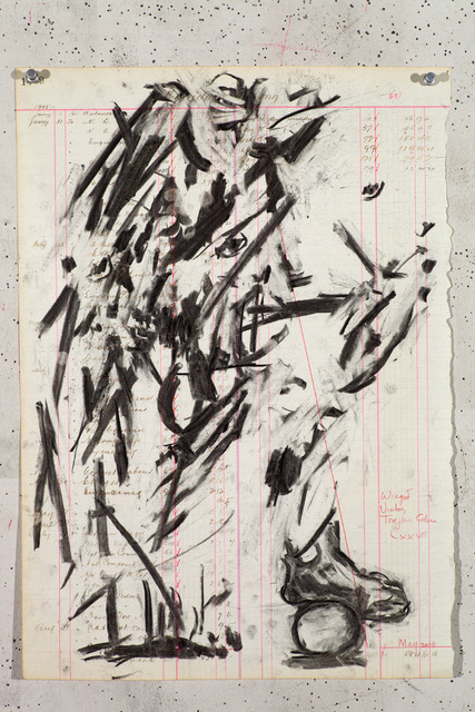 , 'Drawing for Triumphs & Laments (#26),' 2014, Lia Rumma