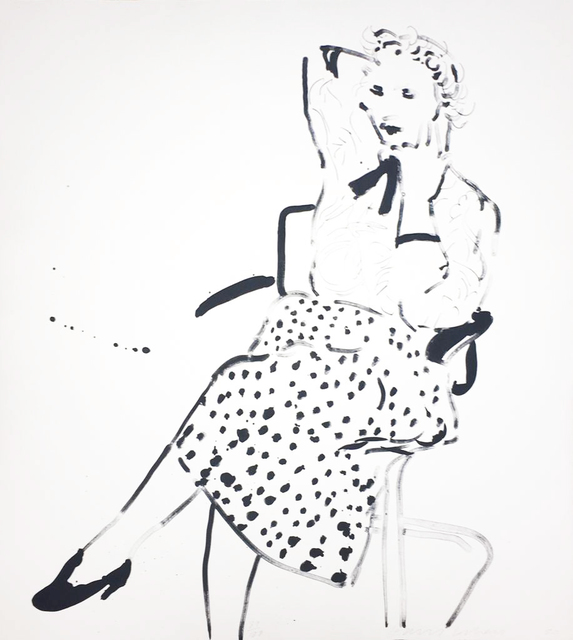 David Hockney, 'Celia in a Polka Dot Skirt', 1980, Hamilton-Selway Fine Art