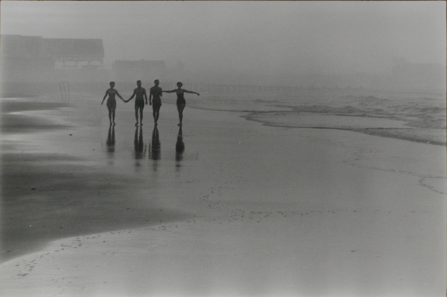 Frank Paulin, 'Morning on the beach, Atlantic City ', 1956, Bruce Silverstein Gallery