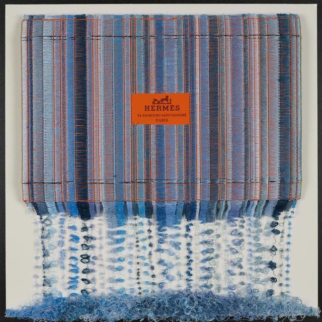 Stephen Wilson, 'Hermes Light Blue Drip', 2019, Axiom Fine Art