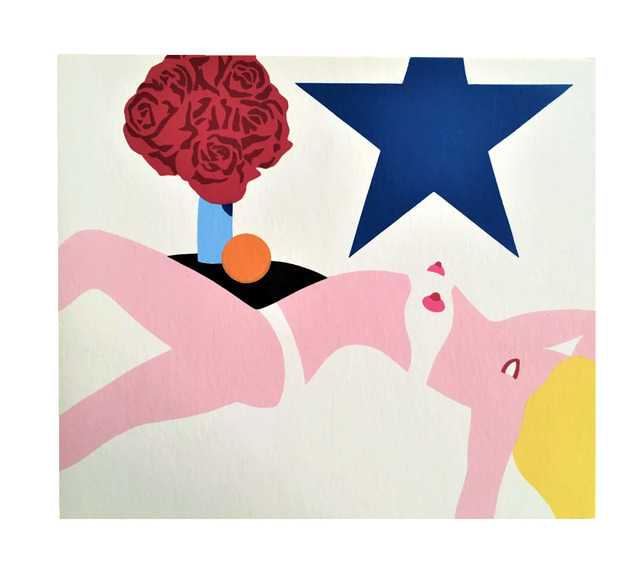 """Tom Wesselmann, '""""NUDE BANNER"""", 1969, Promotional Card, Multiples Inc. NYC, Edition of 1000 (not signed)', 1969, VINCE fine arts/ephemera"""