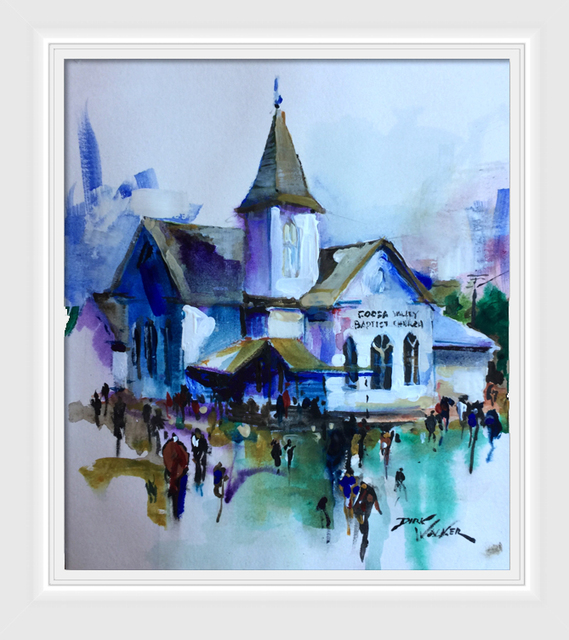 , 'Valley Baptist Church,' , Beverly McNeil Gallery