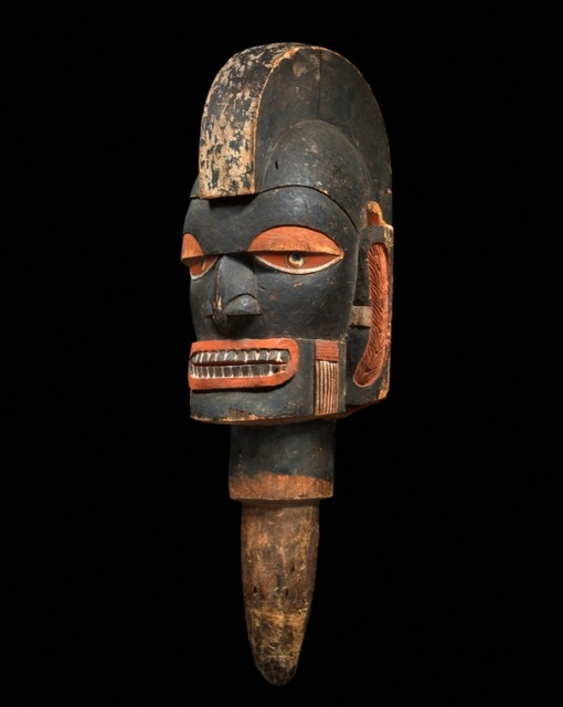 , 'Marada head,' 19th/20th century, Galerie Meyer Oceanic Art