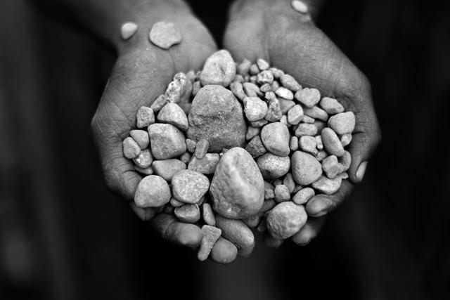 , 'Pedras na Mão, (series: O Preço da Pedra),' 2011, Belo-Galsterer Galeria