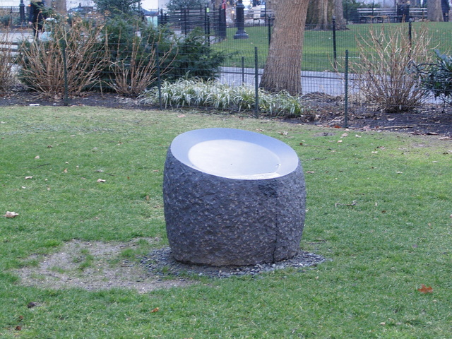 , 'Dangerous Object (External),' 2004, Madison Square Park