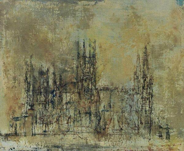 , 'Cathedrale Espagnole,' 1952, Anna Ning Fine Art