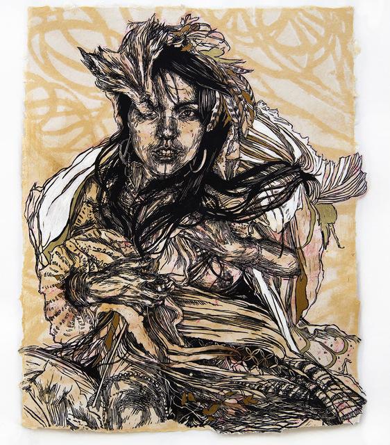 , 'Monica,' , Lawrence Alkin Gallery