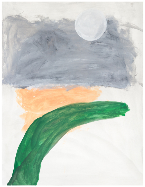 Jongsuk Yoon, 'Memory of the Moon', 2019, Drawing, Collage or other Work on Paper, Gouache on paper, Galerie nächst St. Stephan Rosemarie Schwarzwälder