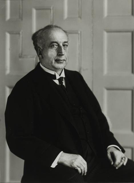 August Sander, 'Estate Manager [Kuno Count von Hardenberg], c. 1930', Galerie Julian Sander