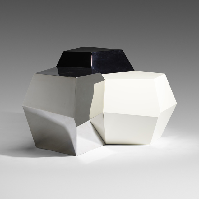 David Gill, Ltd., 'Polyhedral tables, set of three', 2004, Wright