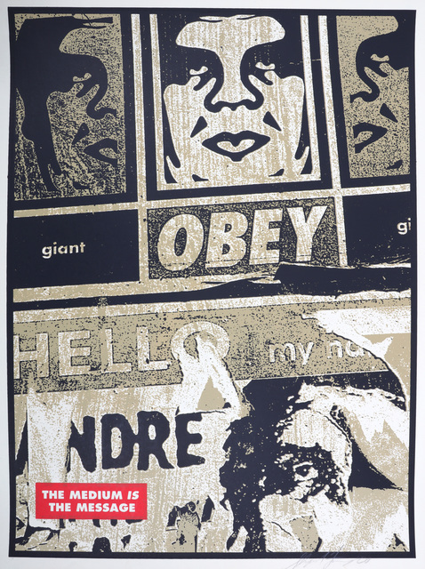 Shepard Fairey, 'Hello Scuzz', 2000, Chiswick Auctions