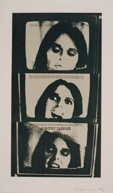 Dorothy Iannone, 'I Was Thinking Of You', 1975, Print, Photo engraving on paper, Air de Paris