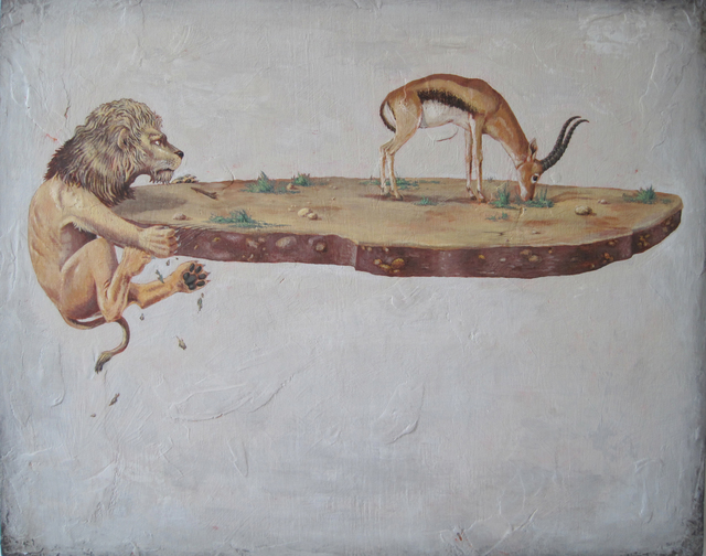 , 'Lion Diorama,' 2010, Court Tree Gallery