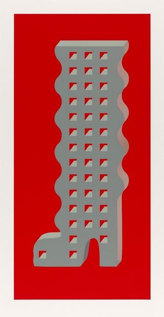 , 'Thirteen Storey Wavey Boot,' 2017, Whitechapel Gallery