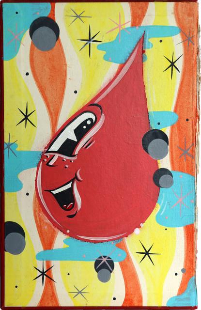 , 'Coral Soda Pop,' 2017, StolenSpace Gallery