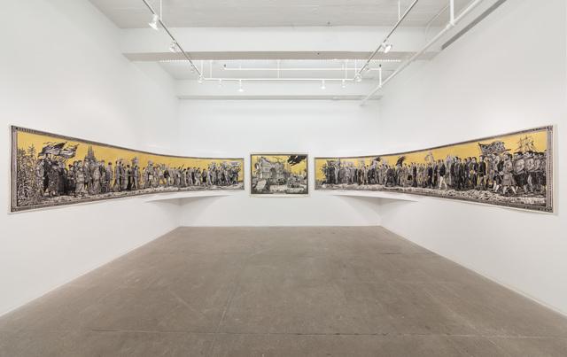 , 'American Procession,' 2017, P.P.O.W