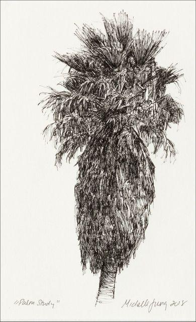 , 'Palm Study ~ Santa Cruz, CA,' 2018, The Guild of Boston Artists