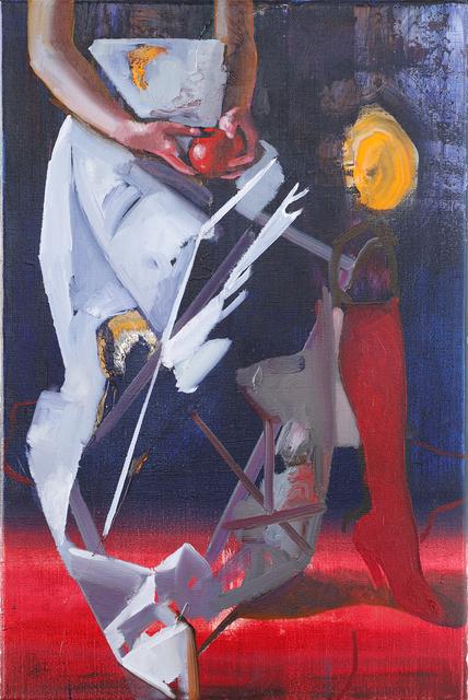 , 'Sitting Figure (Siebte Fee),' 2018, Josef Filipp Galerie