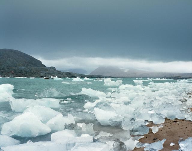 ", 'Nordvågen 2, 79°00'19.2""N 12°01'47.6""E, Blomstrandbreen, Svalbard, Norway, Summer, 18 August, 2016,' 2016, Benrubi Gallery"