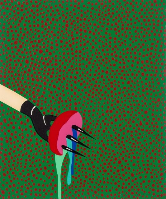 Lucas Samaras, 'FORK', 1968, Print, Color screenprint, Doyle