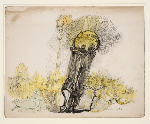, 'Untitled - Yellow Tree,' 1977, Vigo Gallery