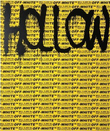 Takashi Murakami, 'HOLLOW MAN (Murakami x Abloh)', 2018, Lougher Contemporary