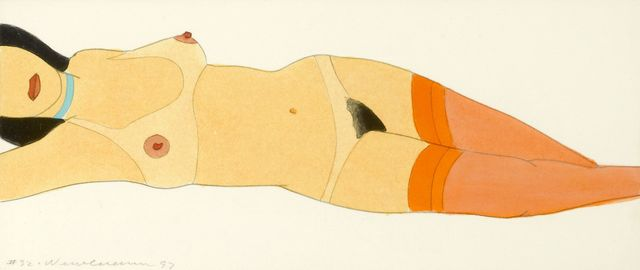 Tom Wesselmann, 'Reclining Nude (Variable Edition) No.32', 1997, Andipa
