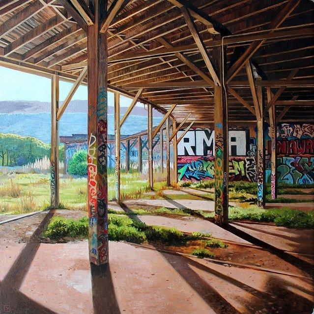 , 'Bayshore Roundhouse I,' 2018, Spoke Art