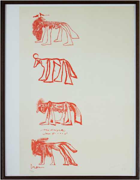 , 'Four Animals,' 1968, David Barnett Gallery