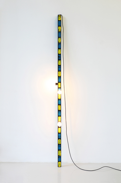, 'Wooden Sculpture with Light no. 5,' 2011, Galerie VIVID