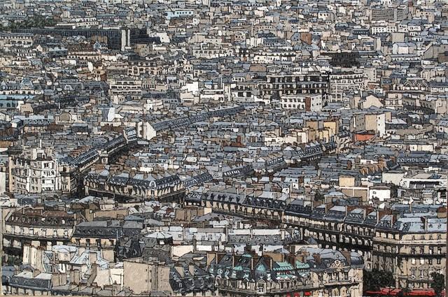 , 'Grand Paris,' 2016, galerie bruno massa