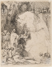 The Raising of Lazarus: the Small Plate