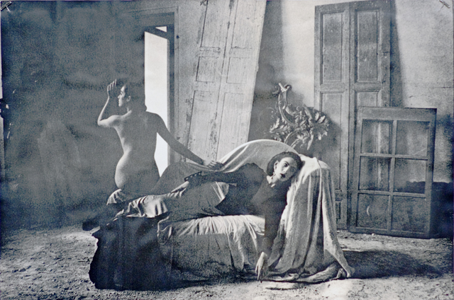 Deborah Turbeville, 'Anh Duong and Marie-Sophie in Emanuel Ungaro, VOGUE, Chateau Raray, France', 1984, Staley-Wise Gallery