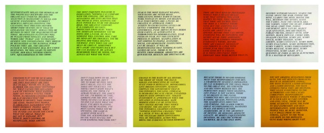 , 'Inflammatory Essays I,' 1982, Carolina Nitsch Contemporary Art